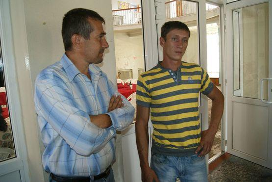 С. А. Баранов и П.Г. Пахолков, владельцы ЛПХ