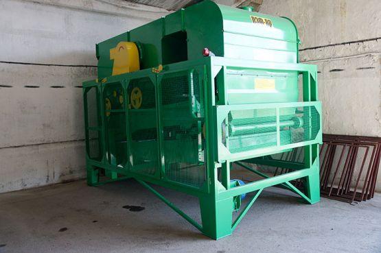 Очиститель зерна фракционный ОЗФ-80