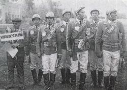 Чемпион края по пожарно-прикладному виду спорта – команда  совхоза «Незамаевский», 1970 год