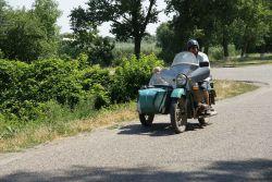 Мотоциклы и скутеры — распространенный вид транспорта в Новоивановской