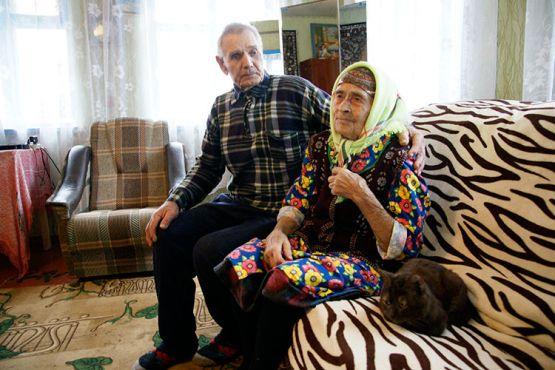 Надежда Максимовна Залитко летом отметит 90-летний юбилей. Ее опорой в жизни является супруг — Иван Фёдорович Шарочкин