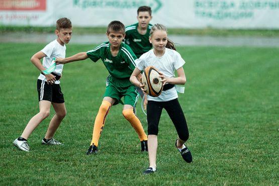 В краевом центре состоялся первый в истории финал школьной регбийной лиги