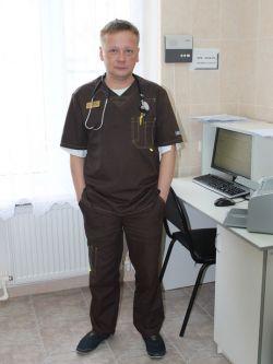 Врач-терапевт Евгений Качан считает, что в госпитале он выполнял обычную работу с поправкой на обстоятельства