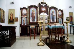 Иконостас в церкви  —  подарок сельчанам от Михаила Мовсесовича.Погосьяна.