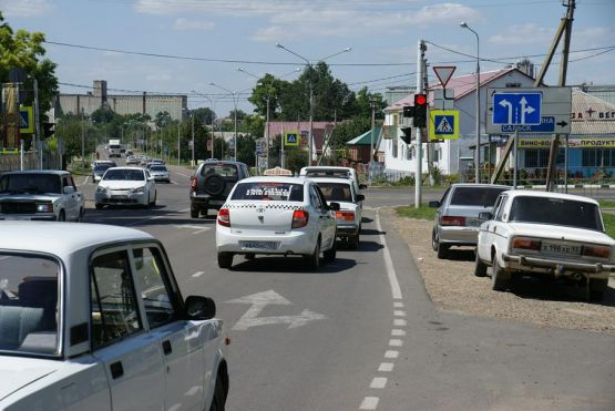 Особое место среди технических средств организации дорожного движения занимает разметка