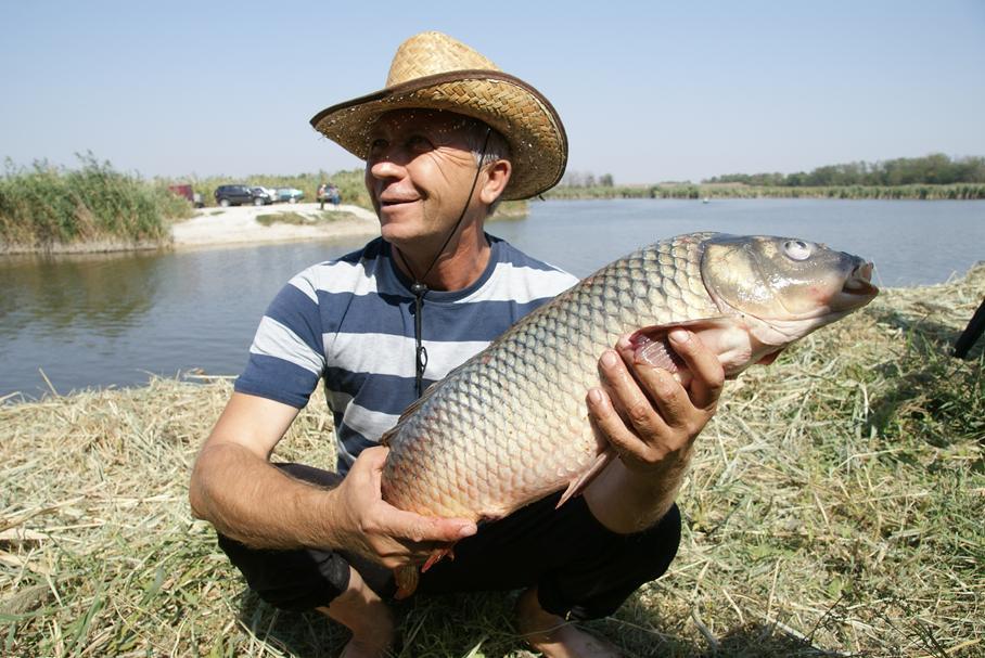 рыбалка на белой глинке