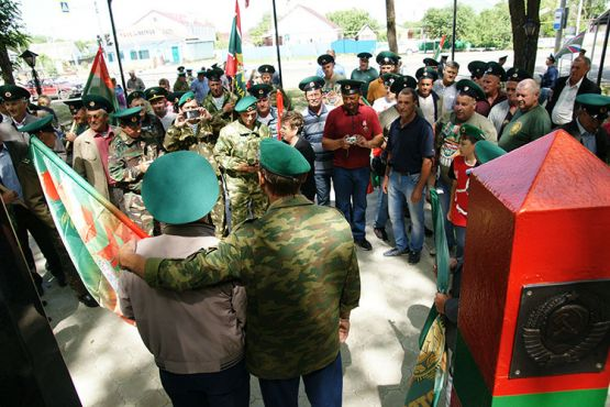 По многолетней традиции День пограничника ветераны службы отпраздновали вместе