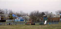 Для юных жителей улицы Веселой построена детская площадка