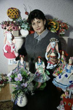 Галина Комарова занялась творчеством, когда выросли дети и появилось свободное время