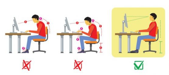 correct-and-bad-spine-sitting-posture-vector-diagram-in-flat-st_p82609