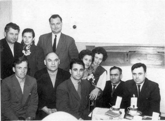 Коллектив редакции. 1960 год